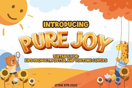 Pure Joy - все колпачки Смешные дисплей шри