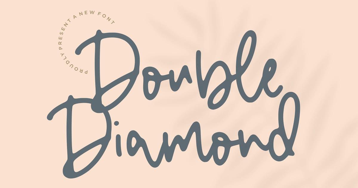 Download Double Diamond Script Font YH by GranzCreative