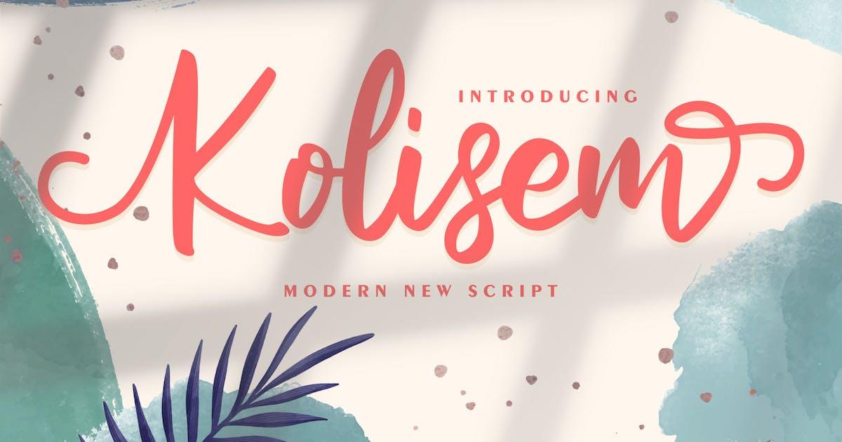 Download Kolisem | Modern New Script by Vunira