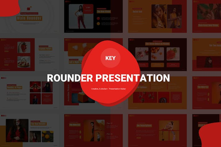 Main Rounder - Keynote Template