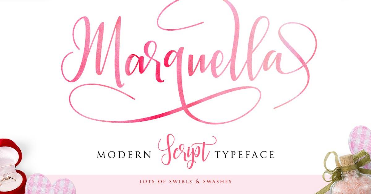 Download Marquella Script by Byulyayika