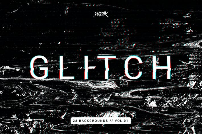 Thumbnail for Glitch | Intense Backgrounds | Vol. 01