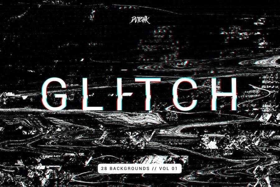 Glitch   Intense Backgrounds   Vol. 01