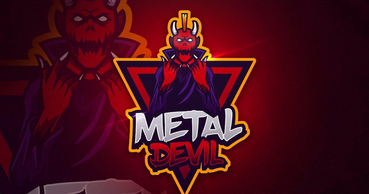 Download Metal Devil - Mascot & Esport Logo by aqrstudio