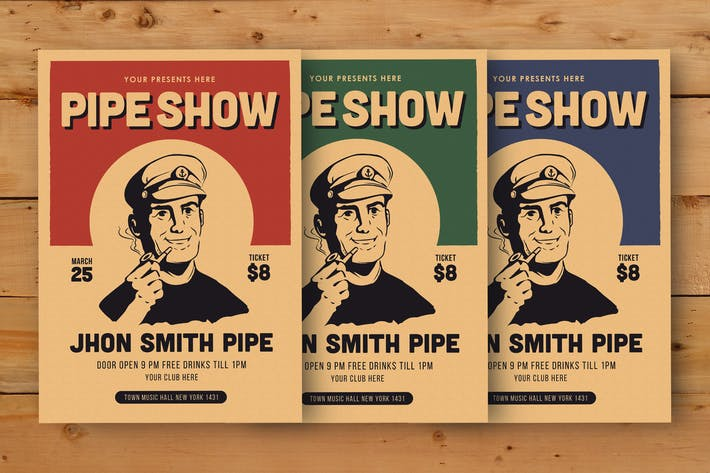 Thumbnail for Pipe Show Flyer