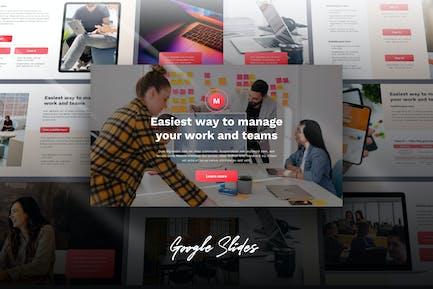 Mana - Digital Business Google Slides Template