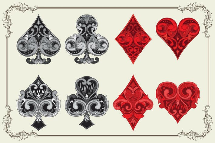 Thumbnail for Ornament Spielkarte