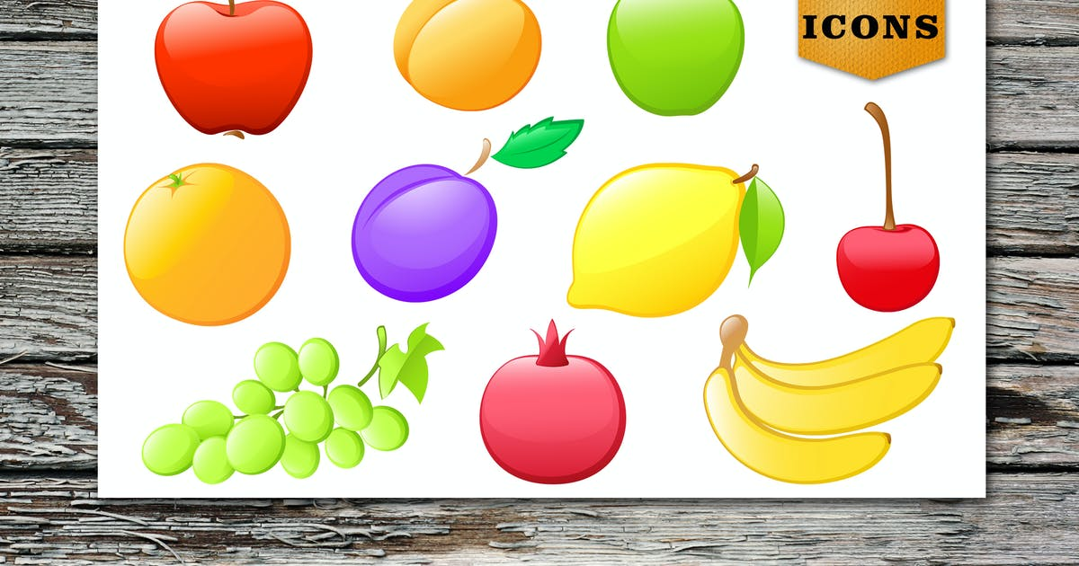 Download Glossy Fruit Icons by Artness