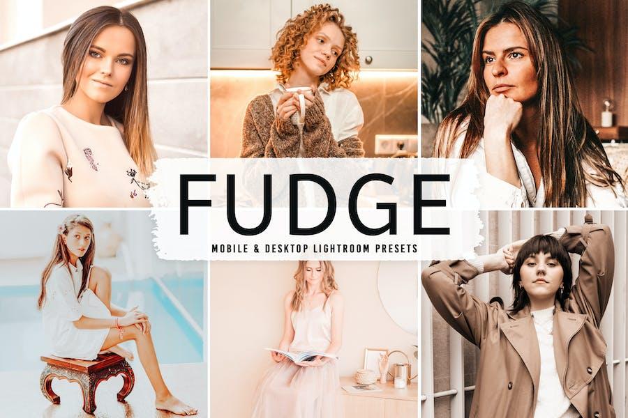 Fudge Mobile & Desktop Lightroom Presets