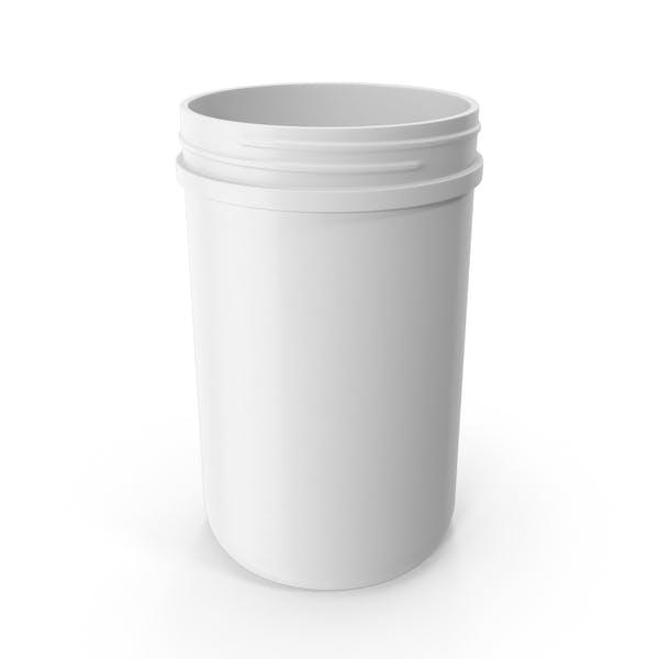 40oz Plastic Wide Mouth Jar