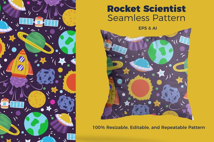 Cover Image For Rocket Scientist Pattern
