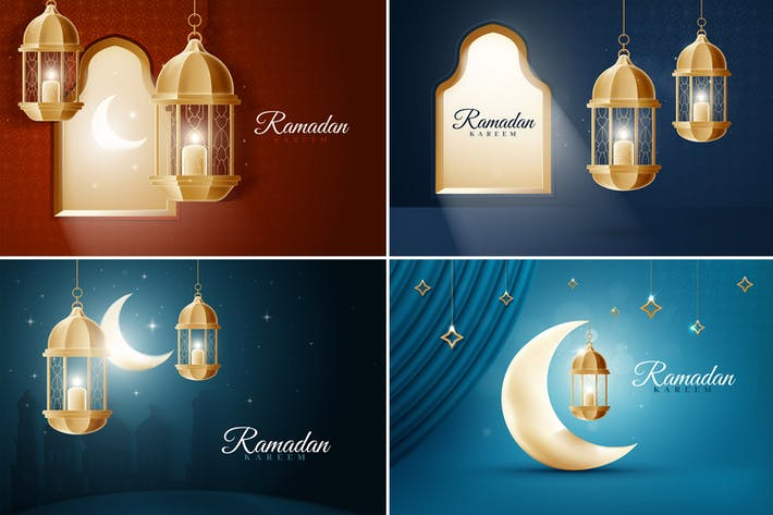 Thumbnail for Islamic Ramadan Backgrounds
