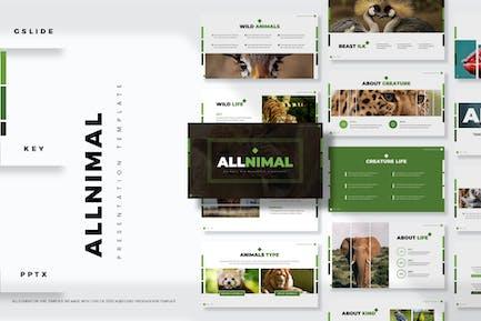 Animals - Presentation Template