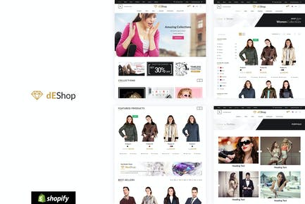 DeShop - Plantilla de Tienda Shopify Responsivo