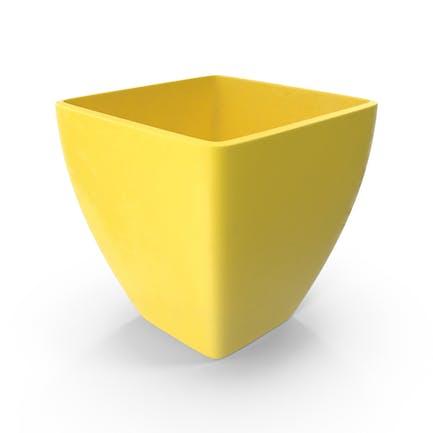 Maceta amarilla
