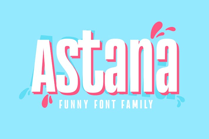 Cover Image For Astana Font