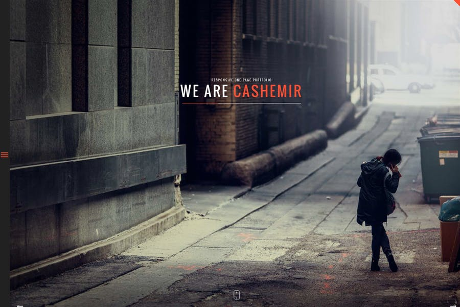 Cashemir - Responsive One Page Joomla Template
