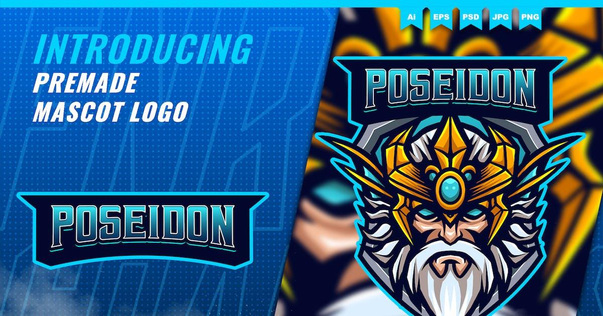 Download God Poseidon - Mascot Esport Logo Template by FNRGraphics