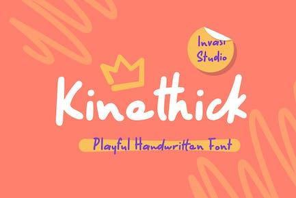 Kinethick   Fuente juguetona