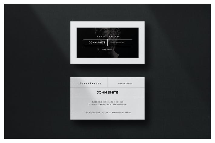 Thumbnail for Minimal Business Card - Vol.14