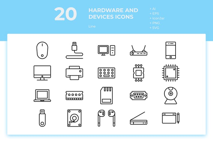 Thumbnail for 20 Hardware and Device 1 (Line)