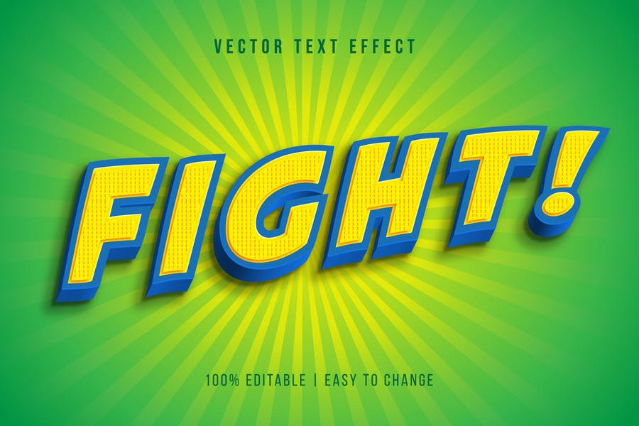 Cartoon Editable Text Effect