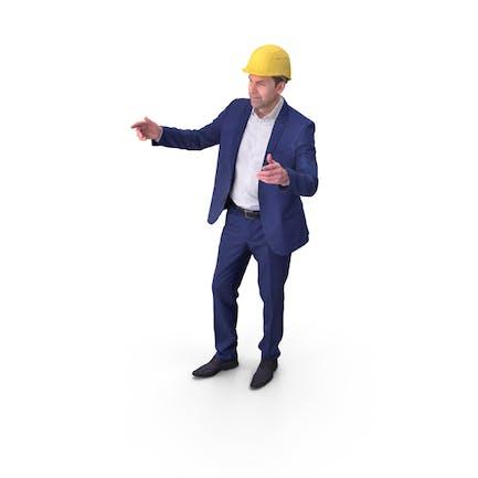 Businessman Posed