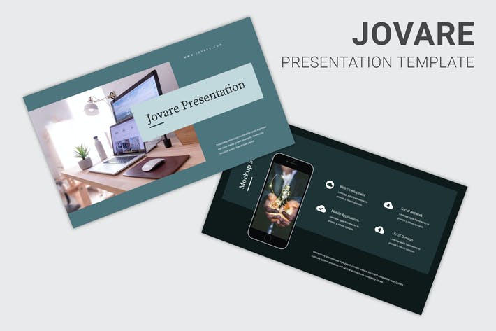 Thumbnail for Jovare - Keynote палубы запуска Pitch
