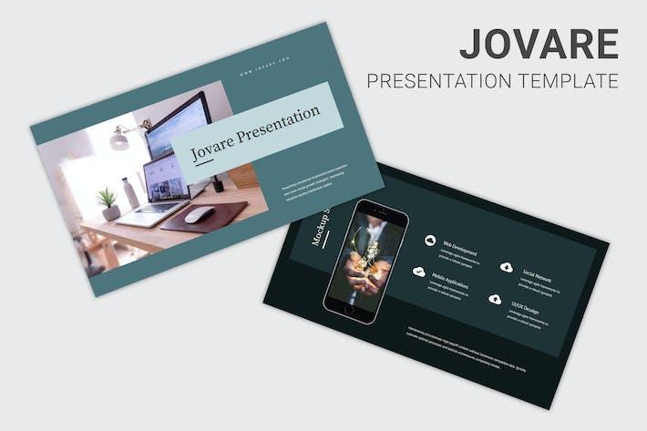 Jovare - Keynote палубы запуска Pitch