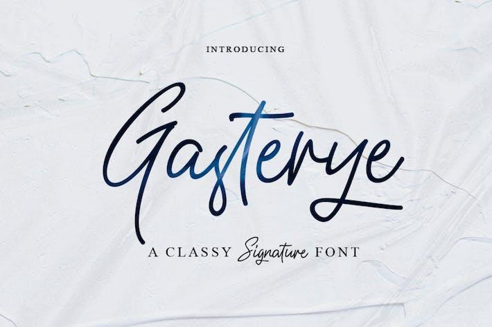 Thumbnail for Gasterye Script