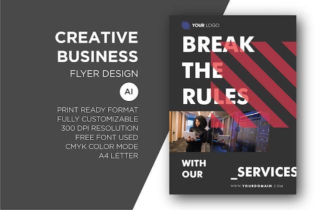 Creative Business - Flyer Design Template Vol.02