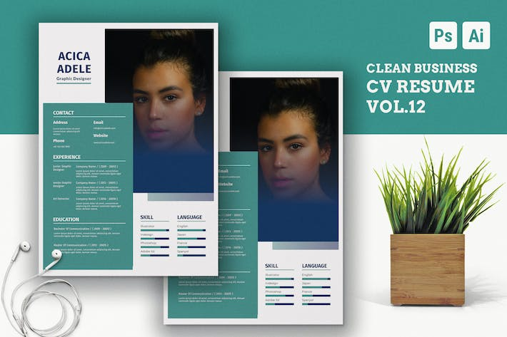 Cover Image For Clean Resume Vol.10