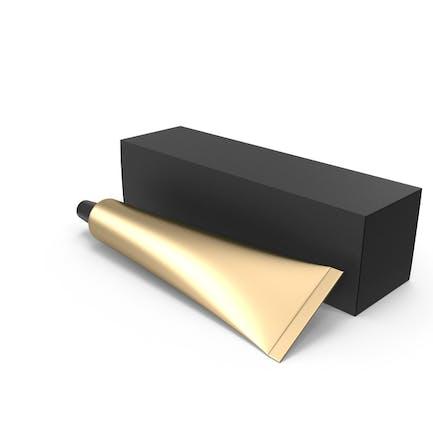 Tubo y caja de cosméticos