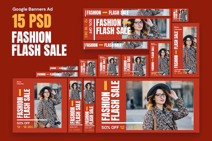 Thumbnail for Fashion Banners Ad