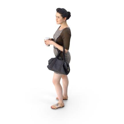 Business Frau mit Geldbörse