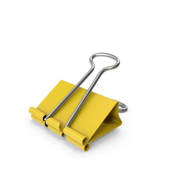Thumbnail for Clip para encuadernador Amarillo