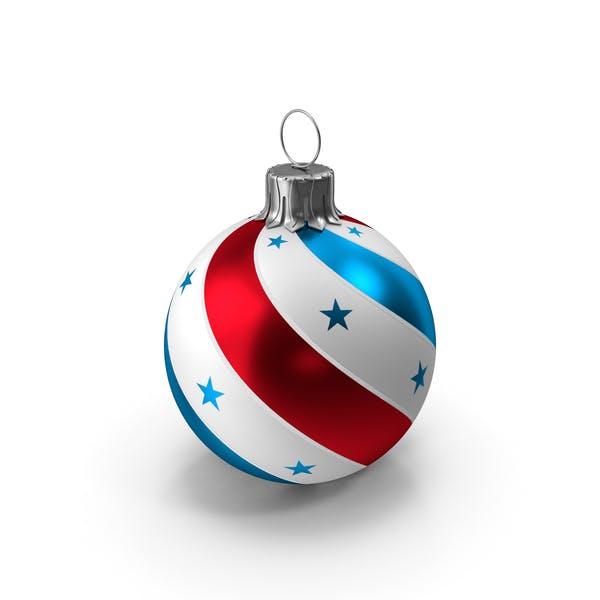 Американский мяч Американский флаг