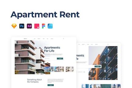 Apartment Rent & Sale Template