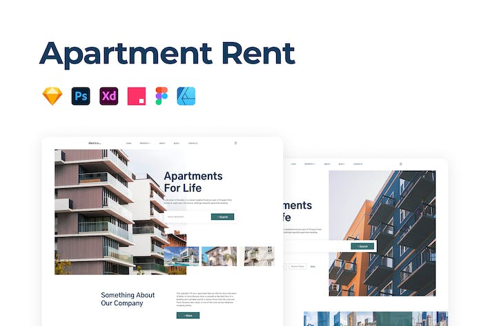 Thumbnail for Apartment Rent & Sale Template