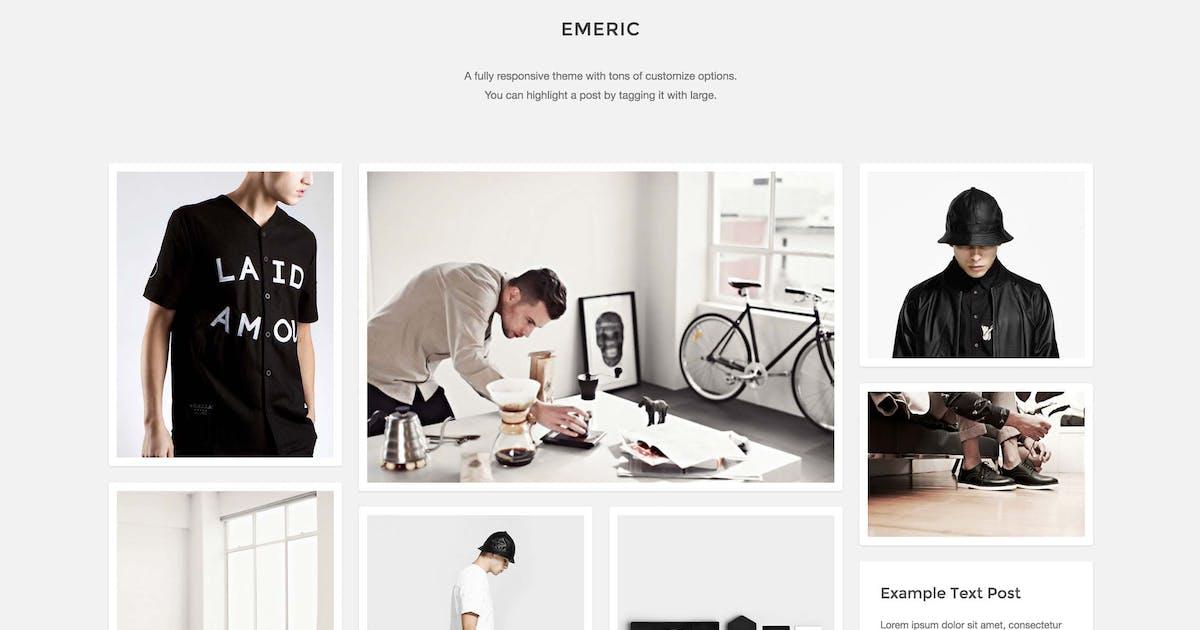 Emeric - Modern Grid Theme