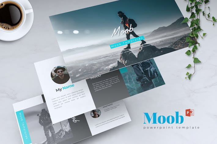 Thumbnail for MOOB - Creative Powerpoint Template