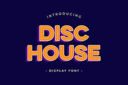 Fuente de visualización de la casa del disco