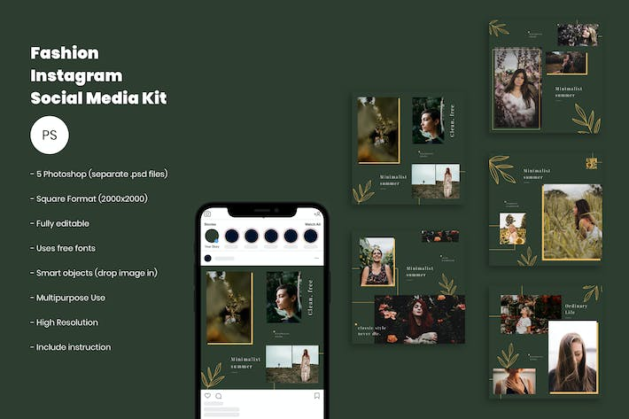 Cover Image For Fashion Social Media Template