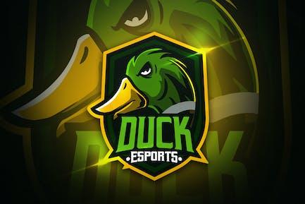 Duck Esports - Mascot & Esport Logo