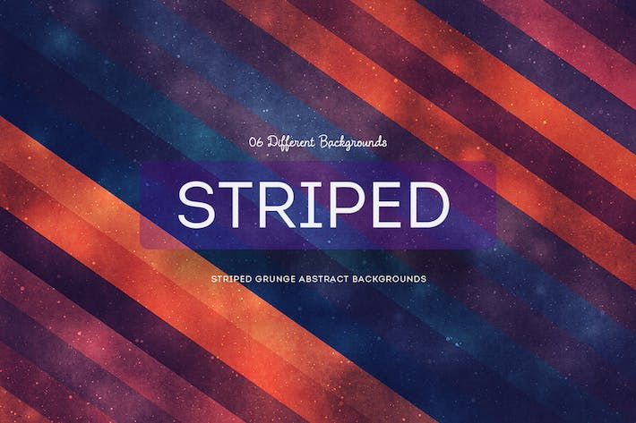 Thumbnail for Striped grunge abstract backgrounds
