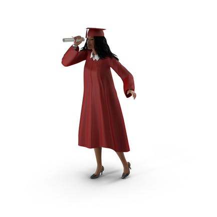 Piel Claro Vestido De Graduación Mujer