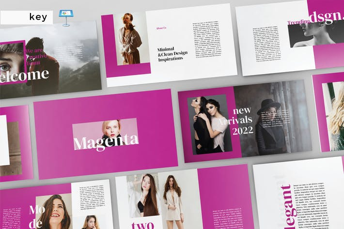Thumbnail for MAGENTA - Multipurpose Keynote V197