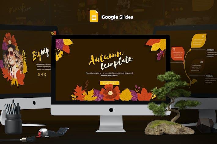 Thumbnail for Autumn - Google Slides template