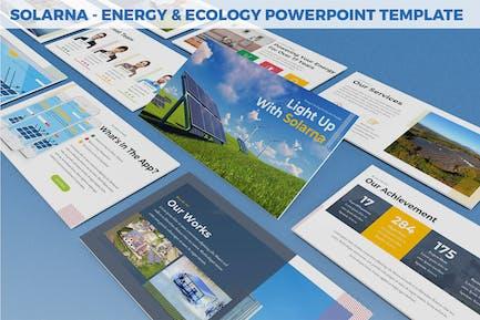 Solarna - Energy & Ecology Powerpoint Template
