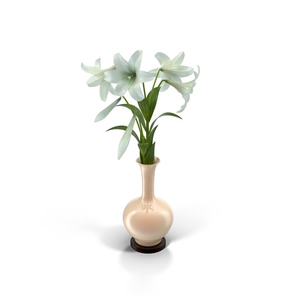 Thumbnail for Easter Lilies in Vase